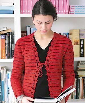 Crochet Cardigan Pattern : ... Patterns, Crochet Cardigan Pattern, Lacy Crochet Cardigans, Crochet