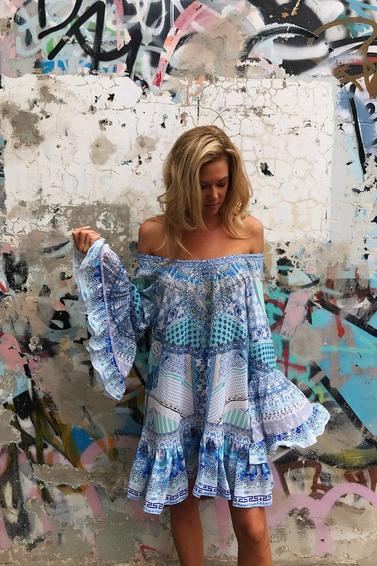 Camilla Day Dreamer A Line Frill Dress on sale now with Free Express Shipping Australia wide & 14 day returns. A flirty, feminine piece that exudes...