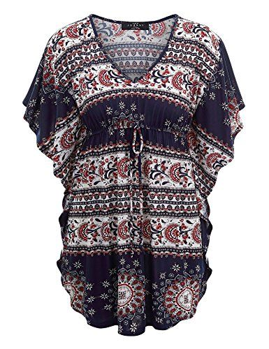 Special Offer: $17.95 amazon.com MBJ Womens Print Caftan Lounge Tunic Top – Made in USA***BEWARE OF IMITATION*** Please make sure when you checkout it's fulfilled by MADE BY JOHNNYWomens print caftan lounge tunic top / V neck short sleeve with drawstring detailsPair it with...