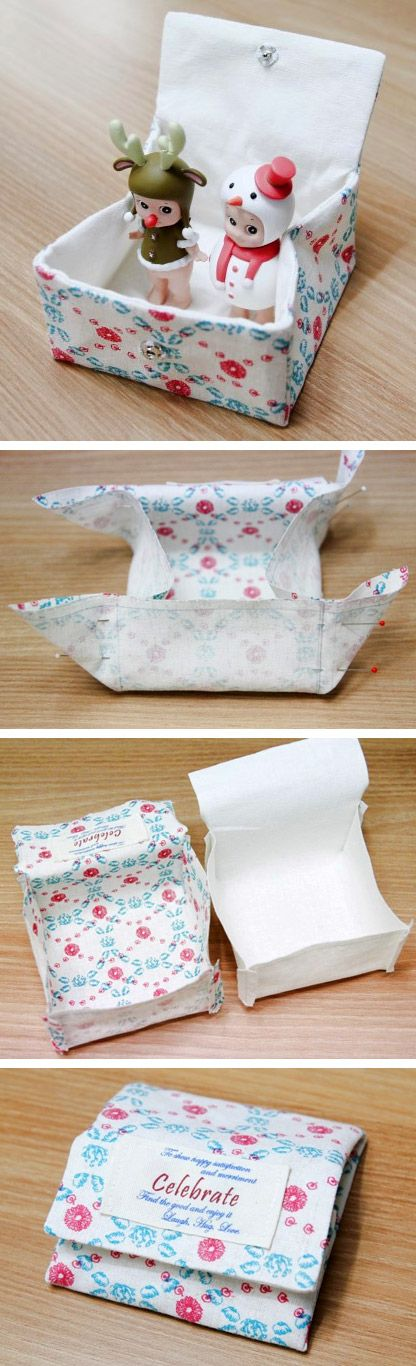 How To Make Button Pouches. Diy Pouch For Sanitary Napkin. Tutorial in Pictures. http://www.handmadiya.com/2015/10/womens-sanitary-holder.html