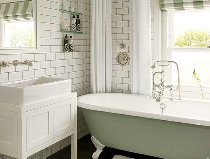 Ausgefallene Designideen Fur Ein Landhaus Badezimmer Kleines Bad Renovierungen Kleine Badezimmer Design Viktorianisches Badezimmer