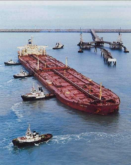 Supertanker Knock Nevis/ Jahre Viking