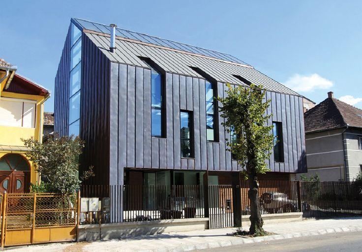 Copper House in Sibiu / Radu Teacă