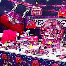 Crazy girl glitz party