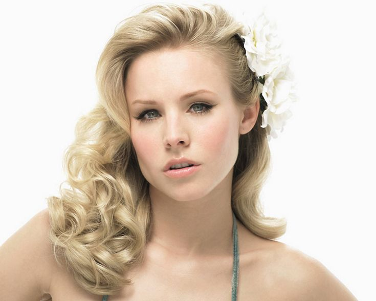 Kristen Bell...beautiful and she's quite funny