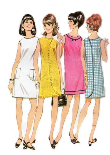 1967 omg  I MADE this dress in Home Ec in 6th grade- honest