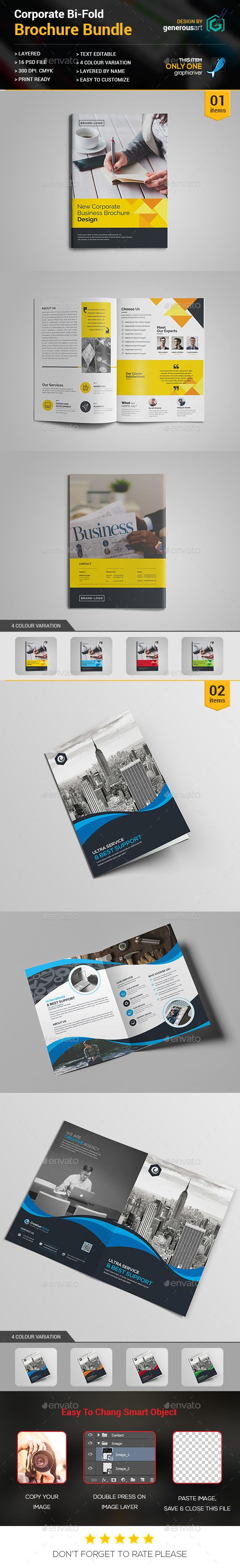 Bi-fold Bundle_2 in 1 - PSD Template • Only available here ➝ http://graphicriver.net/item/bifold-bundle_2-in-1/16888696?ref=pxcr