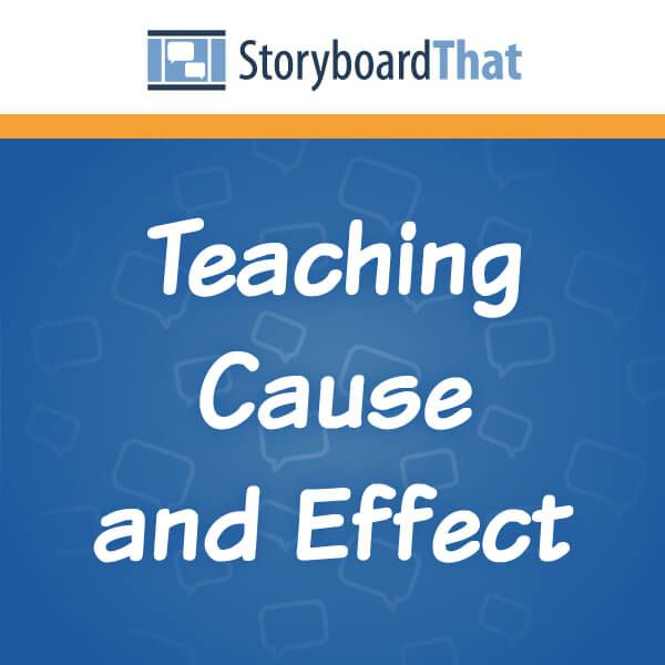 What is cause and effect? It's what drives development! Our cause and effect lesson plans include many cause and effect examples to use when reading literature