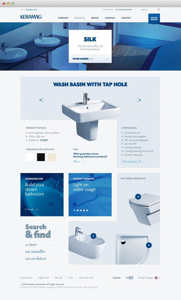 Sanitec Global #website #webdesign #bathroom #bathroomequipment
