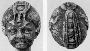 Natte occipitale: Tête de fillette découverte à Thasos