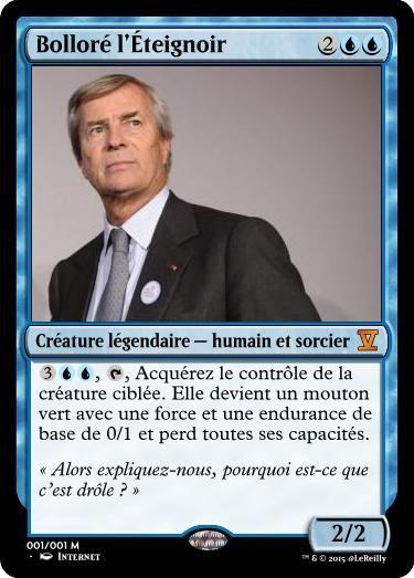 Bolloré L'Éteignoir