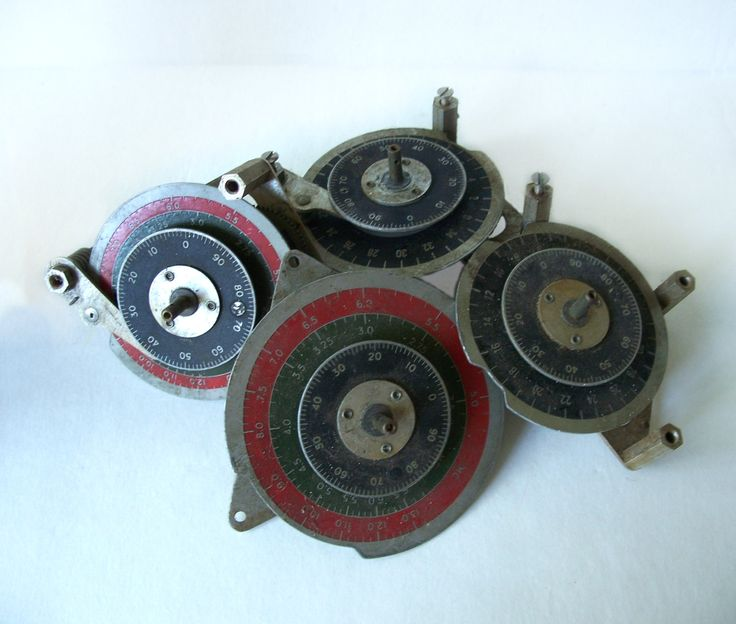 Tuning Dial Assemblies Radio Equipment by MargsMostlyVintage on Etsy