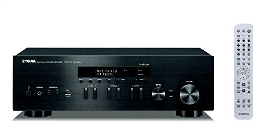 Yamaha R-N402D Black MusicCast Netzwerk Receiver mit DAB schwarz