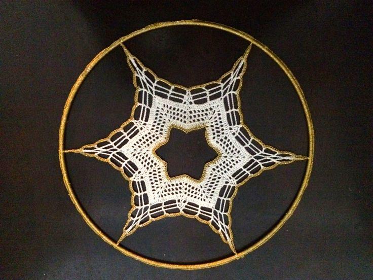 Window Star - window decoration made of crochet - Handmade by Niezapominajkinet on Etsy