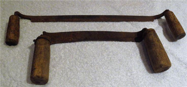 Två handsmidda bandknivar på Tradera.com - Knivar och yxor | Verktyg |