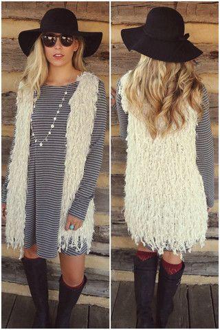 Fringe vest – Amazing Lace
