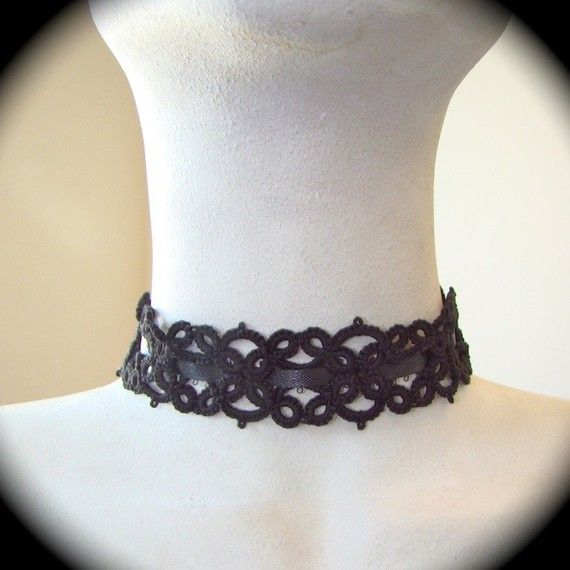 Tatted Lace Convertible Headband Armband Necklace by TotusMel