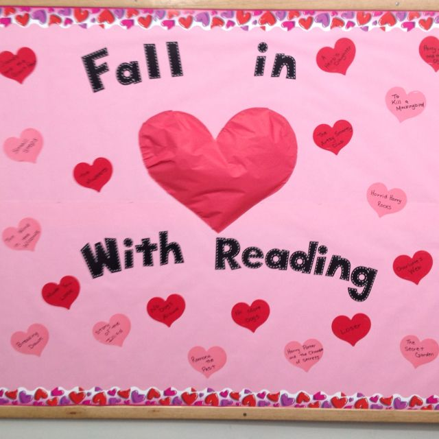valentine's day bulletin boards for preschool