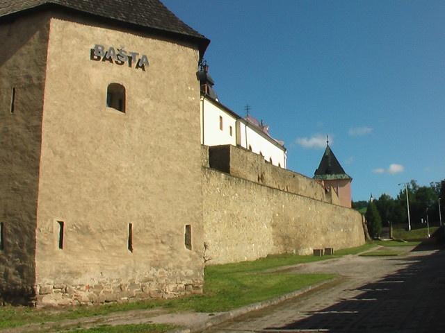 Slovakia, Levoča - City walls