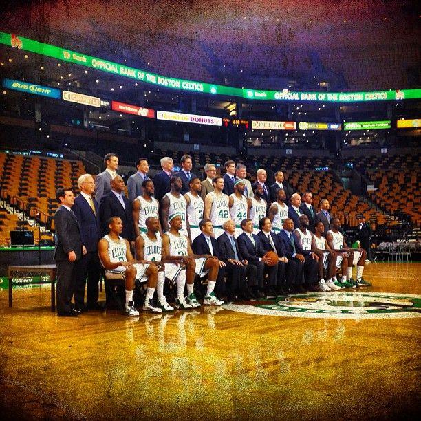 #Celtics team photo day at TD Garden