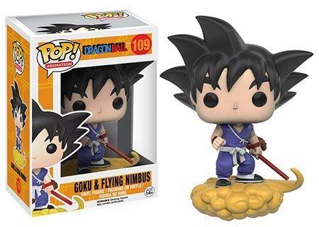 Dragonball Z Goku and Nimbus Pop! figurine