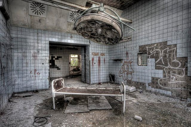 enter the treehouse awesome images of abandoned hospitals