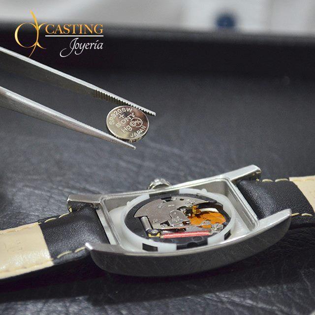 #TipsCasting ¿ Sabes cuándo cambiar la pila de tu reloj? La duración de una pila esta entre dos a tres años. #Relojería #Joyeria #AltaJoyeria