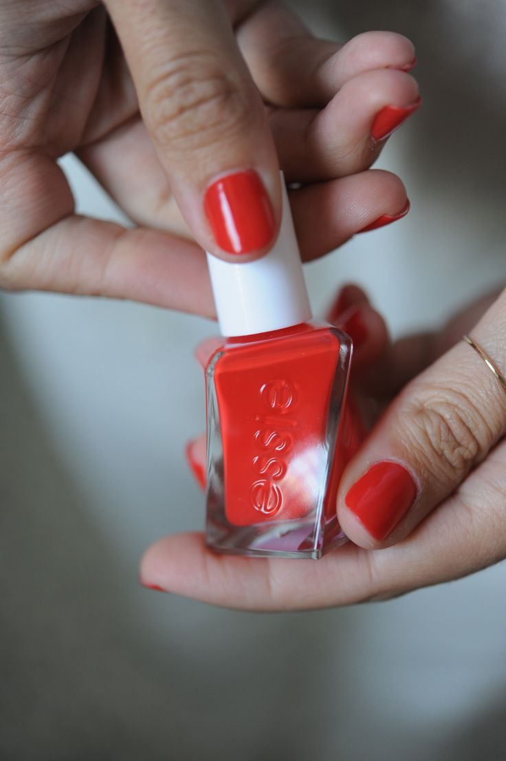 How to Find Your Signature Nail Polish. And why I can't get enough of this orangey hue.