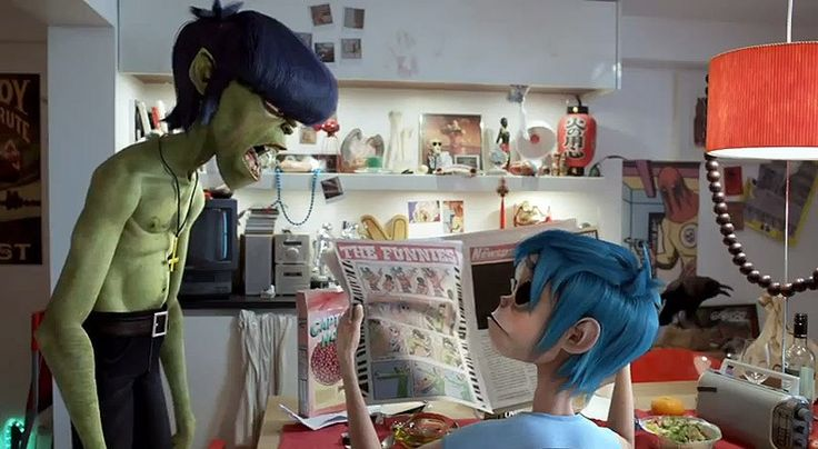 Music video for 'Do Ya Thing', by Gorillaz with Andre 3000 and James Murphy