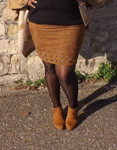On l'a déjà vu mais on ne s'en lasse pas de cette jolie #jupe à #oeillets #babou à 12€ ! #boots 25€ Modeusement Vibe