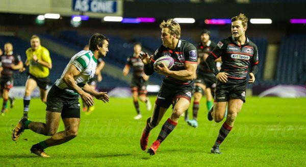 Latest news Rugby - Edinburgh v Krasny Yar, European Rugby Challenge Cup