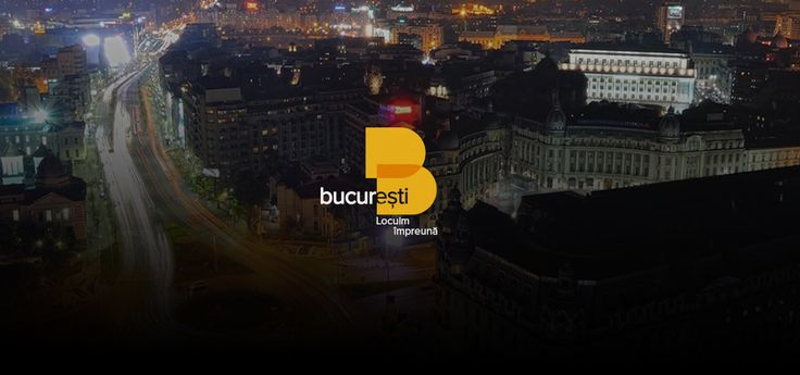 Everything that is presented here is Costin Oane's logo proposal submitted and accepted in the competition, for the Romanian capital, Bucharest.