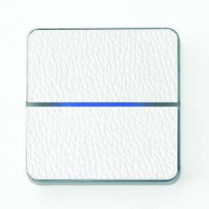 Basalte Enzo 2-way/White Leather