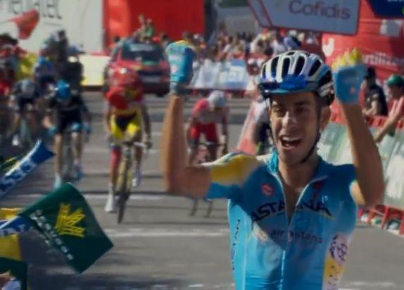 Grande vittoria di Fabio Aru nell'undicesima tappa della Vuelta a España che si concludeva con l'arrivo in salita al Santuario De San Miguel De Aralar.  Ecco foto e video degli ultimi chilometri  http://www.mondociclismo.com/vuelta-11-tappa-numero-di-fabio-aru-foto-e-video-fasi-finali-20140903.htm  #vuelta2014 #vuelta #ciclismo #Aru #contador