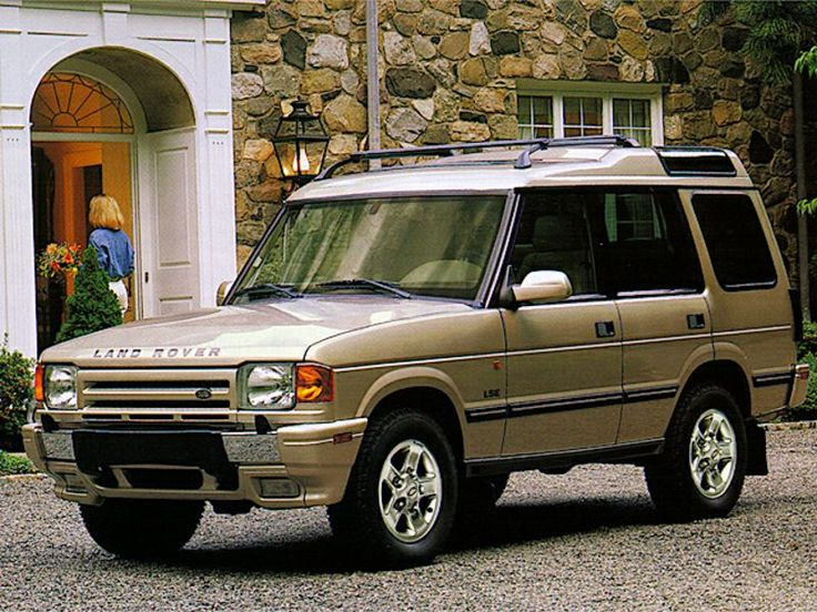 1998 Land Rover Discovery LSE Gold