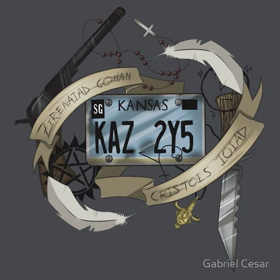 This would be such an awesome tattoo.... I love how subtle it is. You wouldn't even know it was from supernatural if you hadn't seen the show.  :)