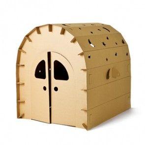 Funny Paper Miley House kartonnen speelhuis hut