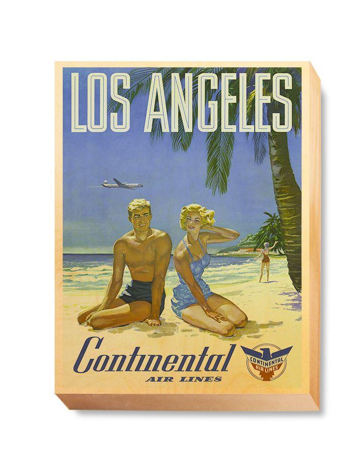 TRV 064 Travel Art Los Angeles