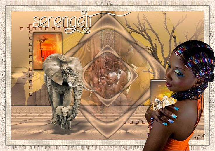 PSP Design: Serengeti - My new tutorial