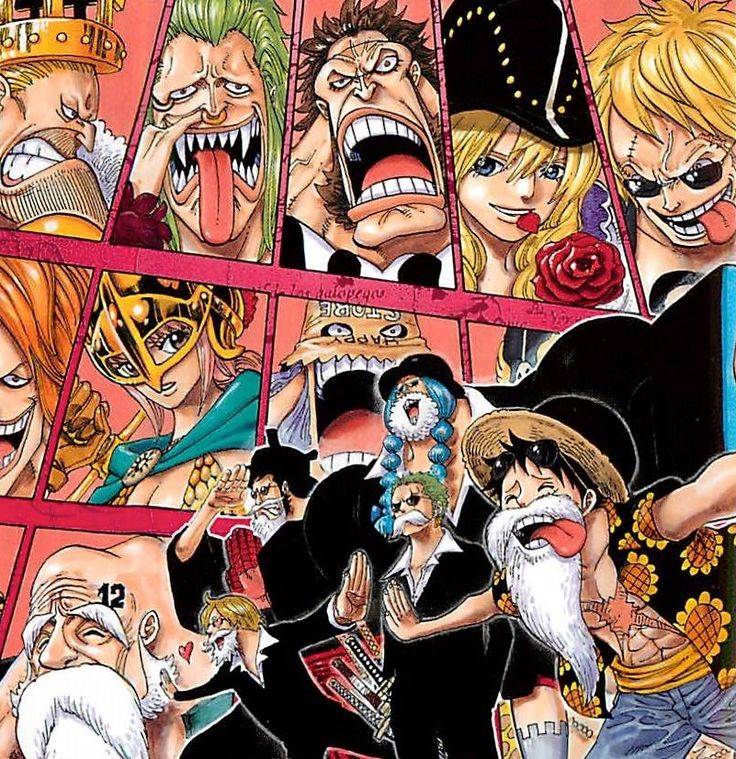 Eiichiro Oda. One Piece.