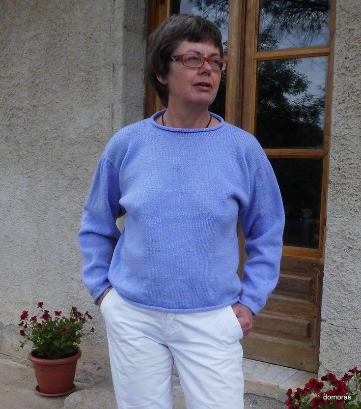 TORRETTA LANA, spiegazione a fare maglia una maglia di lana della designlinea Ypspigra di domoras