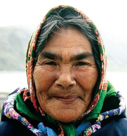 Elder of Kangiqsujuaq: ᐋᓂ ᐊᓚᑯ Annie Alaku