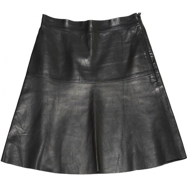 25  best ideas about Leather a line skirt on Pinterest | Pencil ...