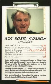 2006 Top Trumps Limited Editions Football Managers #NNO Sir Bobby Robson Front
