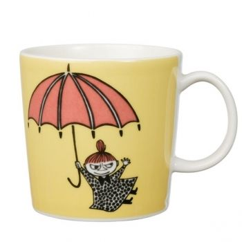 Moomin mug Little My, yellow