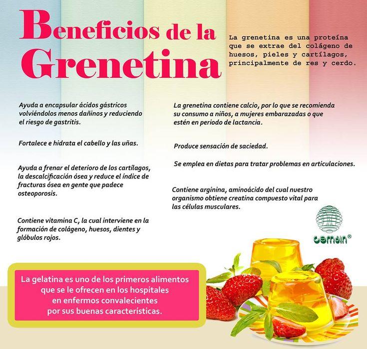 Beneficios de la Grenetina