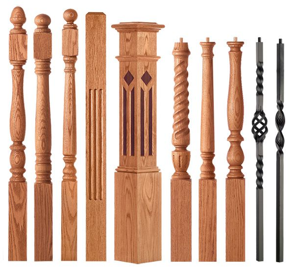 34 Best Images About Railing, Spindles And Newel Posts For
