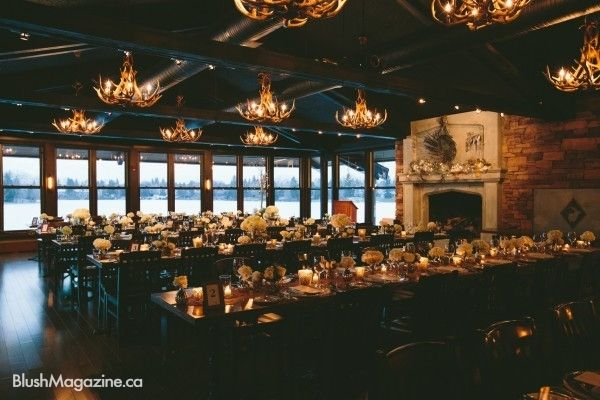 Rustic Lake House Wedding, Calgary AB. Antler Chandelier, Rustic Wedding, Lake House