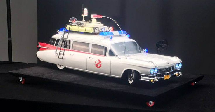 New 1/6 Scale Ghostbusters Ecto-1 Vehicle coming from Blitzway - The Toyark - News