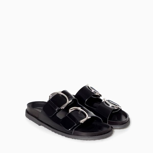 20 Pairs of Slip-On Slides to Get You From Spring to Summer: Leather